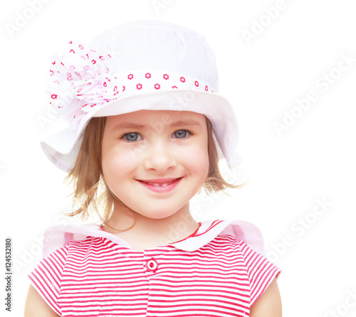 The little girl in the hat