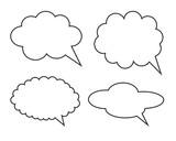 Speech bubble - 124546539
