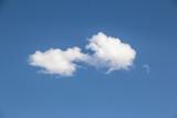 Mavi Gökyüzünde Beyaz Bulut