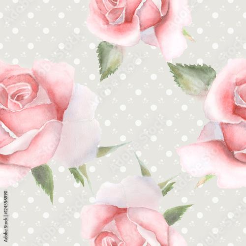 bezszwowy-wzor-z-rozowymi-akwareli-rozami
