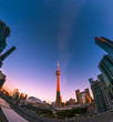 Sunrise at downtown Toronto, Canada
