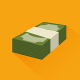 save the money stack icon graphic vector illustration eps 10