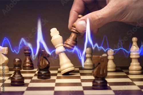 Plakát, Obraz Chess.