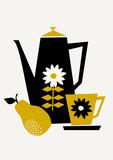 Retro Coffee Set - 124589149