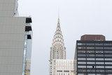 Chrysler building from a rooftop bar - 124627508