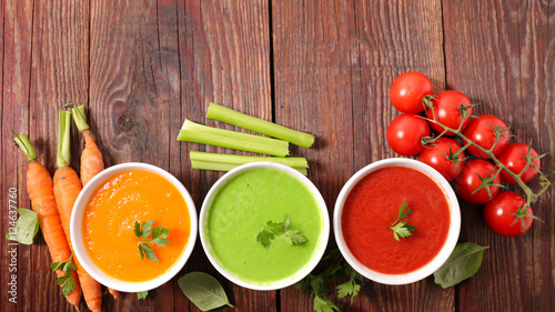 assorted of soup - 124637760