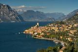 Gardasee: Blick auf Malcesine. - 124640110
