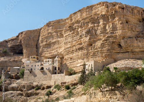 St George Orthodox Monastery, located in Wadi Qelt, Israel Poster