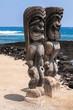 PU'UHONUA O HONAUNAU NATIONAL HISTORICAL PARK BIG ISLAND HAWAII