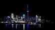Toronto Skyline at night (The 6ix)