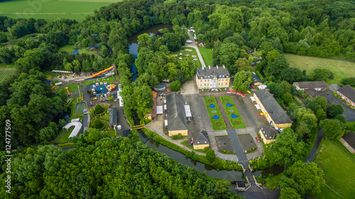 In de dag Amusementspark Schloss Beck