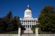 Maine Statehouse capitol building is located in Augusta, ME, USA.