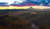 Mount Hood from Jonsrud viewpoint - 124796536
