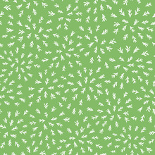 seamless abstract pattern feuille de tige sur fond vert