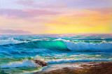 painting seascape - 124881739