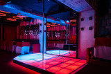 Night club interior with pole dance stage - 124899186