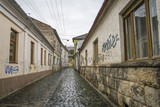 Fortress Street in the Old City of Cluj, Romania