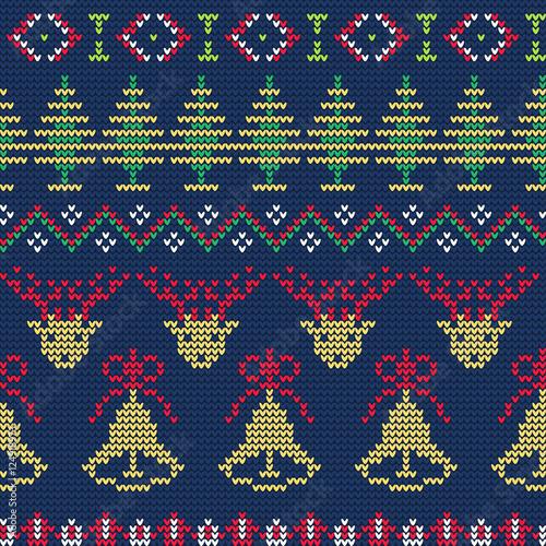 Cotton fabric  Ugly sweater Pattern