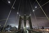 Brooklyn Bridge at Night - 124931705