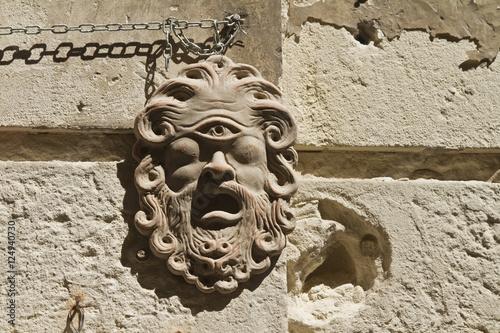 Poster Polyphemus mask