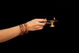 Asian style of worship - 124974946