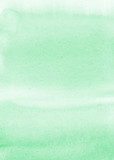 Mint watercolor background - 124992750