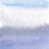 Hand painted watercolor background - 124993944