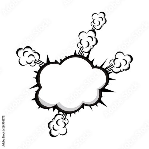 Fotobehang Pop Art pop art onomatopoeia speech bubble icon image vector illustration design