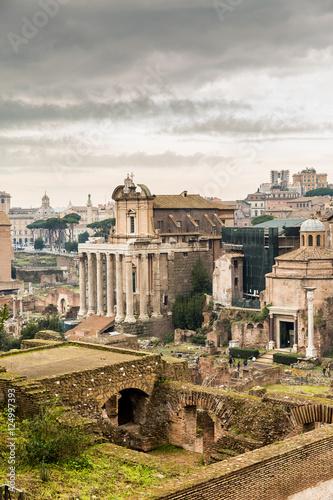 Staande foto Rome Roman ruins in Rome, Italy