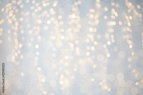 Poszter blurred christmas holidays lights bokeh