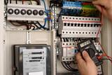 Sicherungskasten Stromprüfung - 125039978