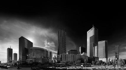 Warszawa czarno - biała
