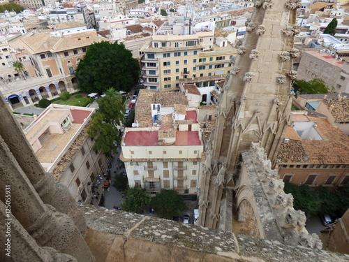 Poster Blick auf Palma de Mallorca