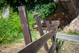 Dettaglio di un recinto in montagna - 125098576