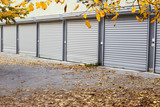 doors of garages - 125111734