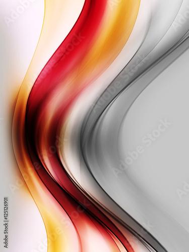 czerwony-szary-pomaranczowy-fale-sztuki-niewyrazne-tlo-efekt