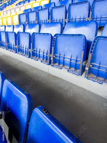 Poster stadium seats
