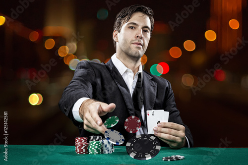 Poker player Poster