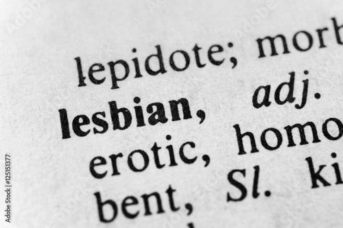 Poster Lesbian