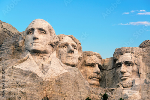 Poster Mount Rushmore Closeup