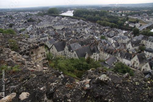 Foto Murales Шинон — город и коммуна во Франции, в департаменте Эндр и Луара, в округе Шинон.