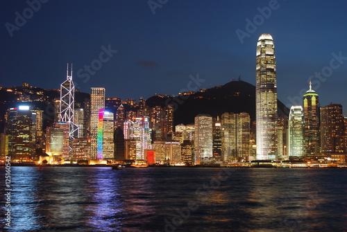 Poster, Tablou Hong Kong Skyline