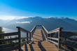 View Point at Sea to Sky Gondola Overlooking Squamish