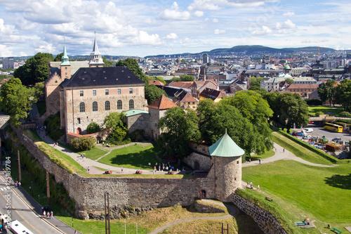 Poster Norwegen, Oslo, Fort Akerhus