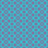 Turquoise blue and pink seamless design pattern