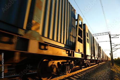 Fototapeta Cargo train
