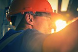 Construction Worker in Sun