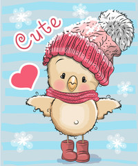 Cute Cartoon Chicken