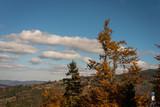 Krajobraz szczyrk jesień wyciąg