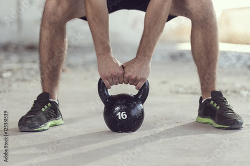 Poster Kettlebell weight